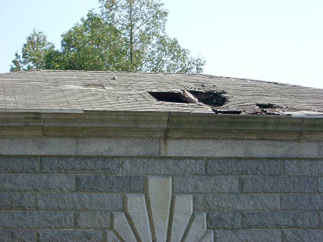 Cochituate Gate House Roof